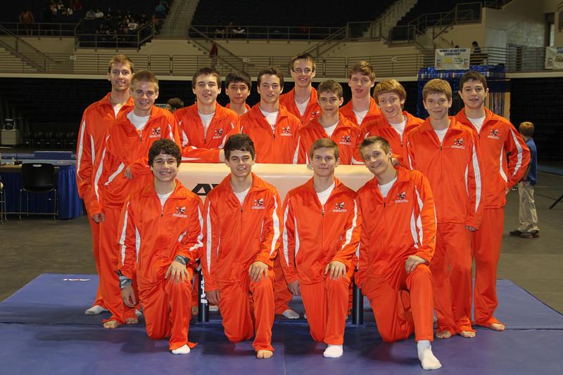 TX HS Gymnastics State 2012 #11